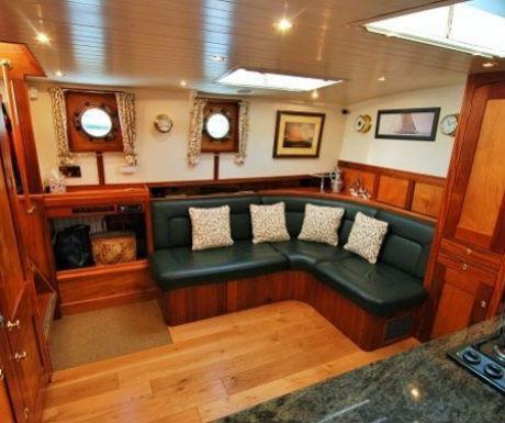 The Randle boat journey interior