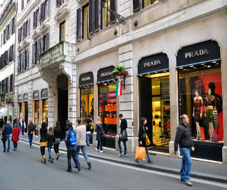 luxury rome around condotti