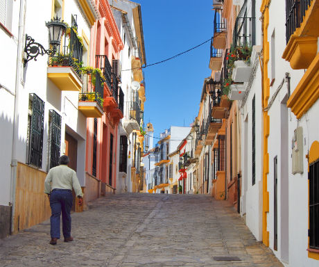 Ronda Spain desirable streets-