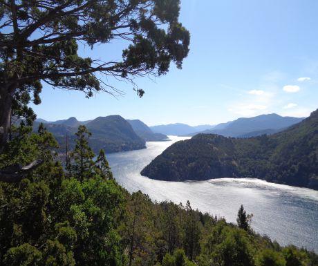 Patagionia lakes region
