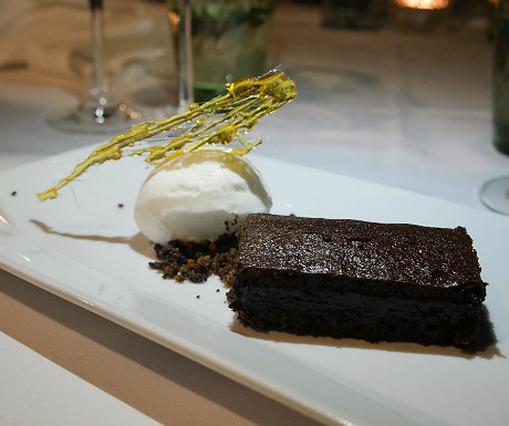 Elounda Gulf Villas chocolate dessert
