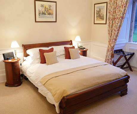 Bedroom during Goldsborough Hall