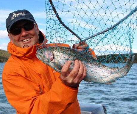 Chilko Experience fishing
