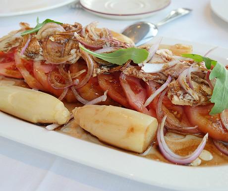 Hotel Juan de la Cosa tuna salad