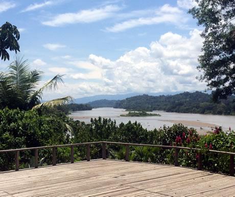 Minga Lodge on a Napo River