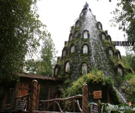 Magic Mountain Hotel, Huilo Huilo Reserve, Chile