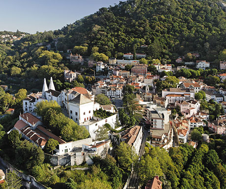 The pleasing city of Sintra