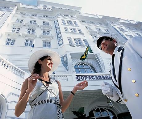 Belmond Copacabana oppulance hotel, Rio