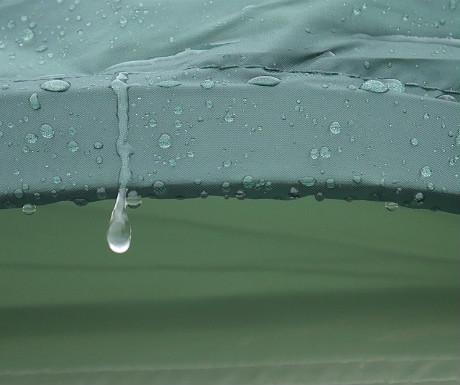 Skandika tent rain