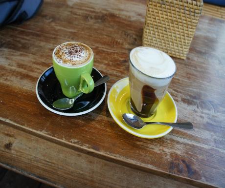 Coffee in a CBD