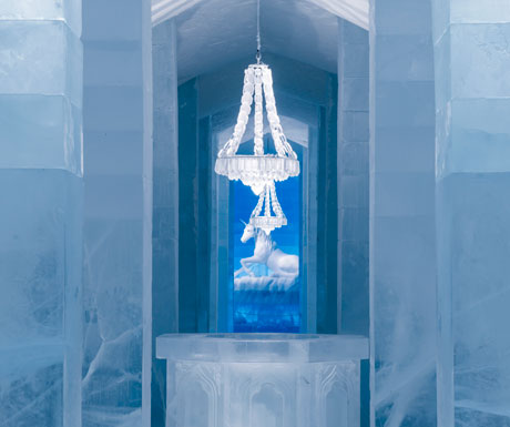 Icehotel categorical hall