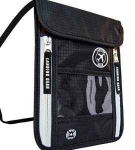Landing-Gear-Passport-Holder-Neck-Pouch-With-RFID-Blocking-The-1-Travel-Wallet-Black-0