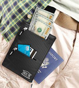 Shacke-Hidden-Travel-Belt-Wallet-w-RFID-Blocker-Black-with-Black-Strap-0