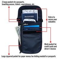Travel-Navigator-Neck-Wallet-and-Passport-Holder-with-RFID-Blocking-Black-0-0