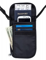 Travel-Navigator-Neck-Wallet-and-Passport-Holder-with-RFID-Blocking-Black-0